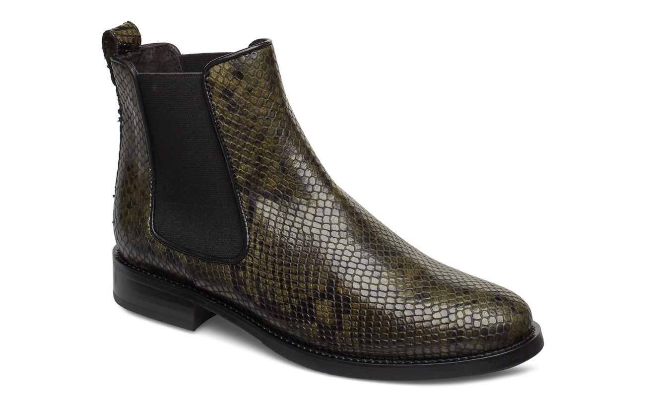 Billi Bi Boots 7913 - GREEN 616 SNAKE 36 R