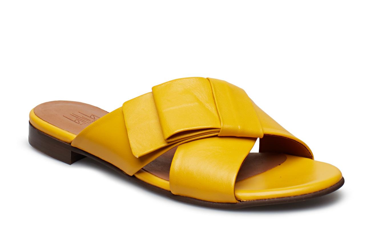 753Billi Sandals Nappa Bi 8629yellow Tulipan DHI29E