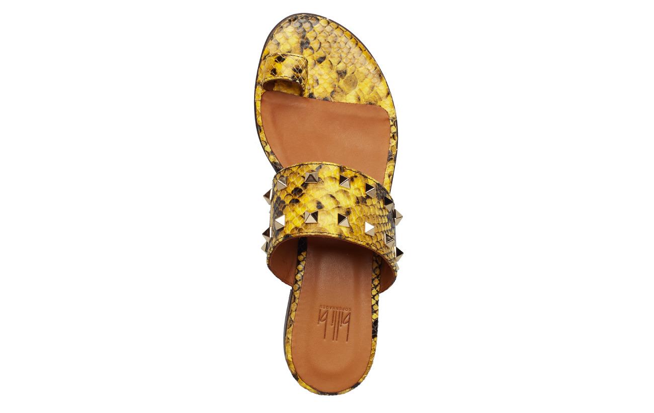 Bi 8702yellow Snake Sandals 352Billi gold 0PNnw8vOym