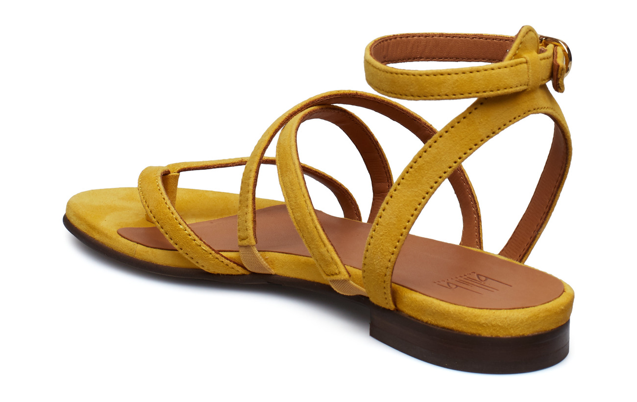 1795 8706yellow Sandals Suede Bi 55Billi oxBeCrd