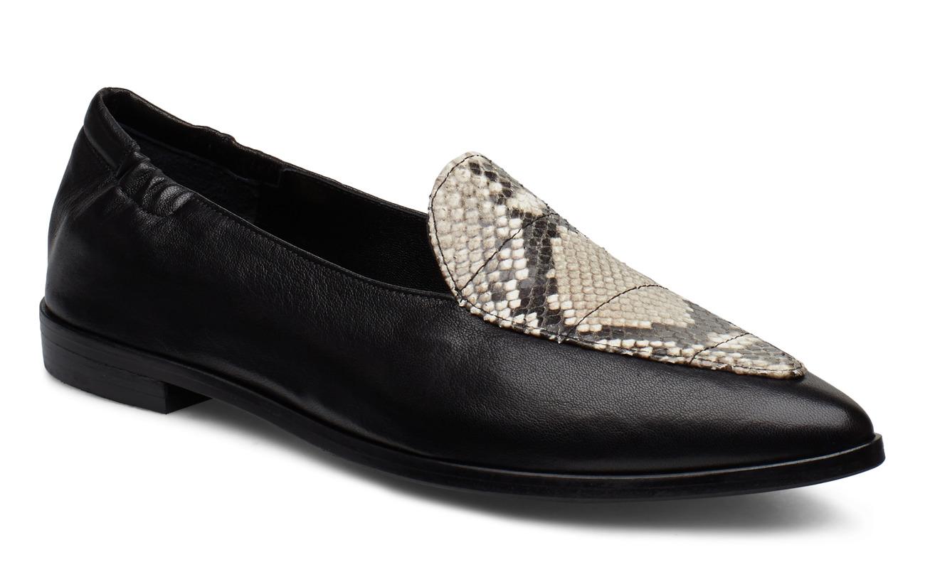 Billi Bi Shoes 91512 - BLACK NAPPA/OFF WH.SNAKE 733