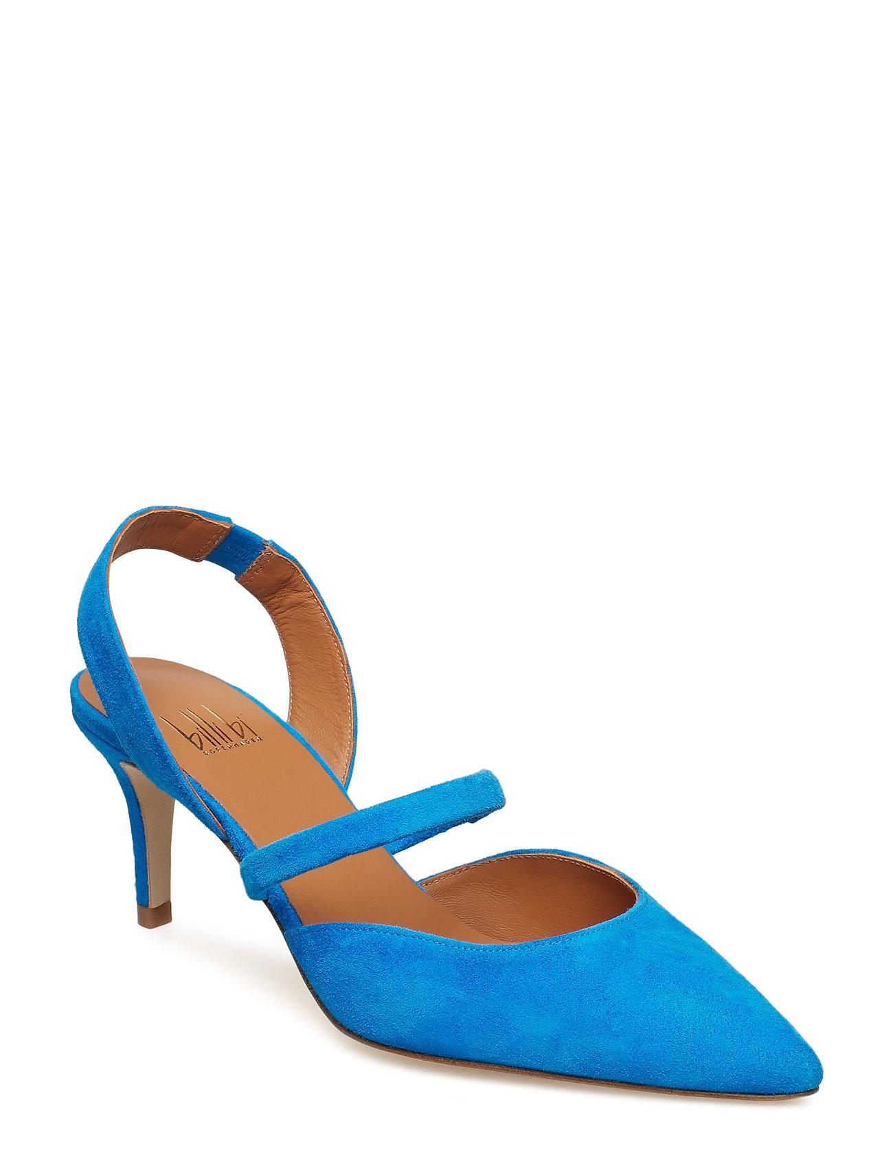 Billi Bi PUMPS 18040 - BLUE MEDITERRANEO SUEDE 515