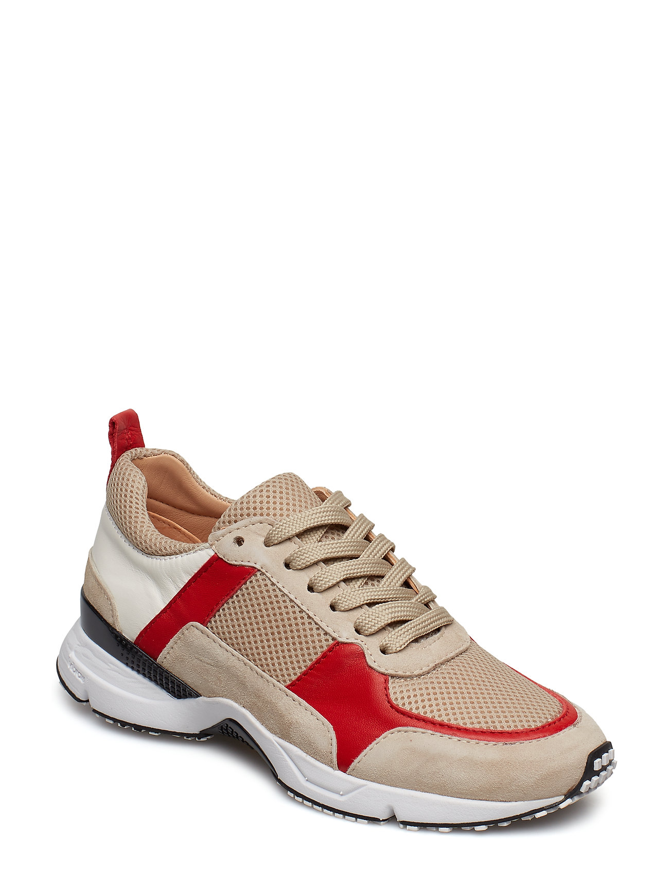 Billi Bi SHOES - BEIGE/RED COMB. 578