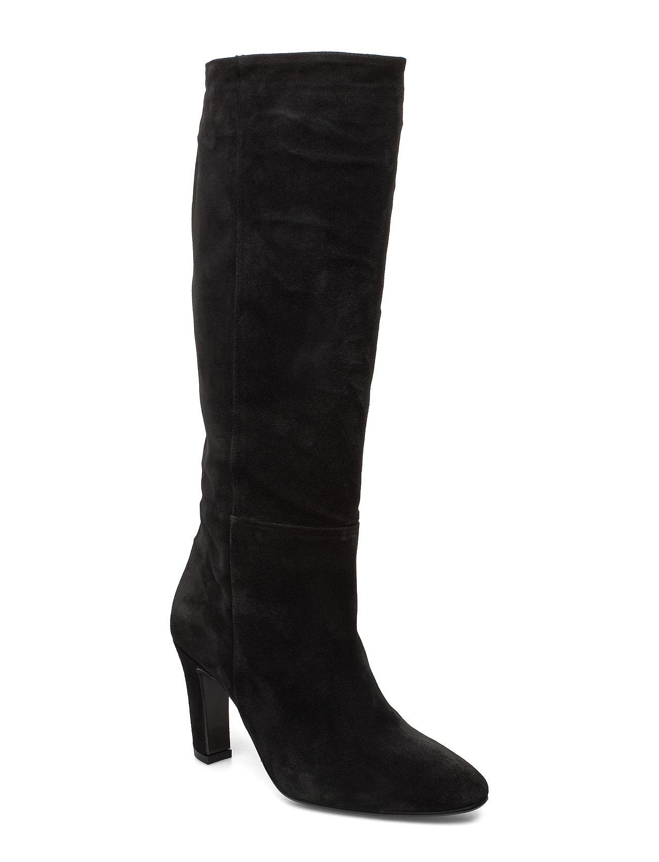Billi Bi Long Boots 3444 - BLACK BABYSILK SUEDE 500