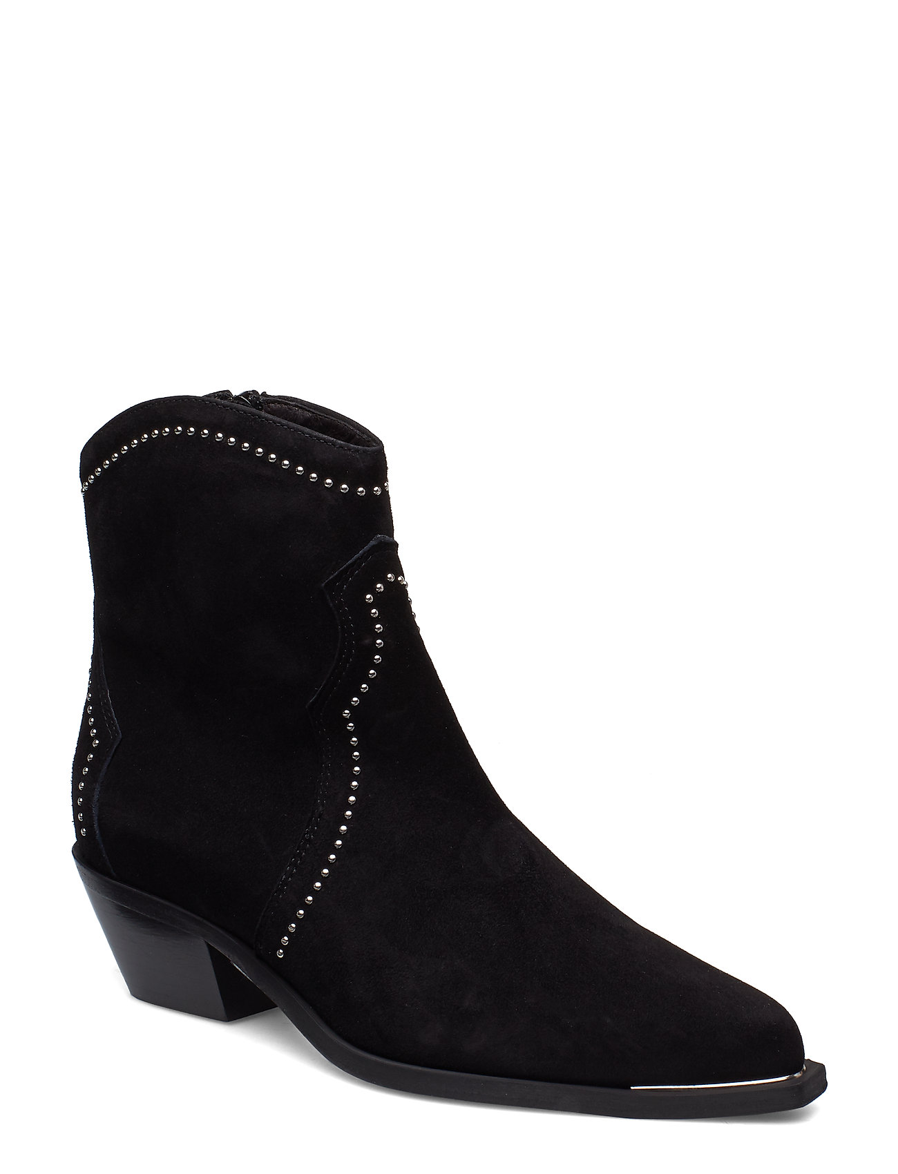 Image of Booties 3703 Shoes Boots Ankle Boots Ankle Boots With Heel Sort Billi Bi (3203601137)