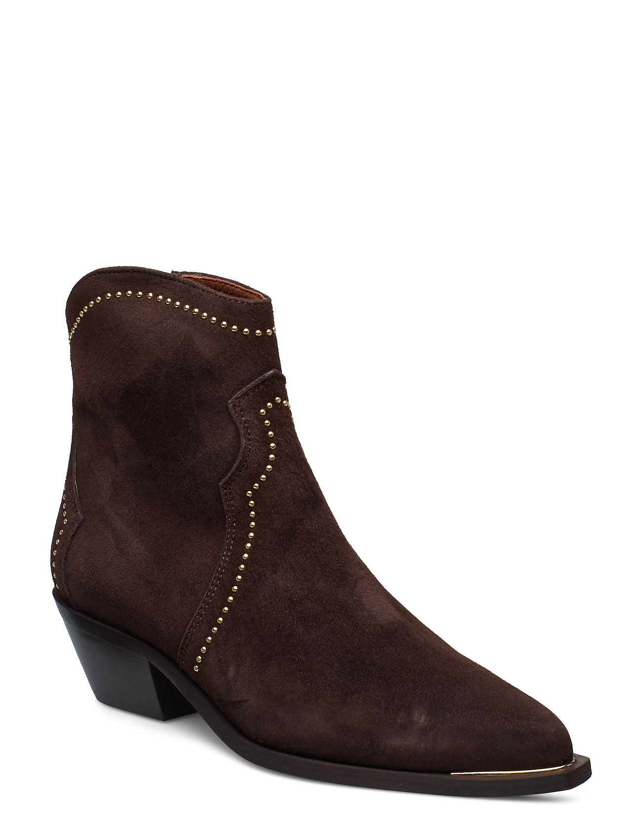 Image of Booties 3703 Shoes Boots Ankle Boots Ankle Boots With Heel Brun Billi Bi (3201657255)