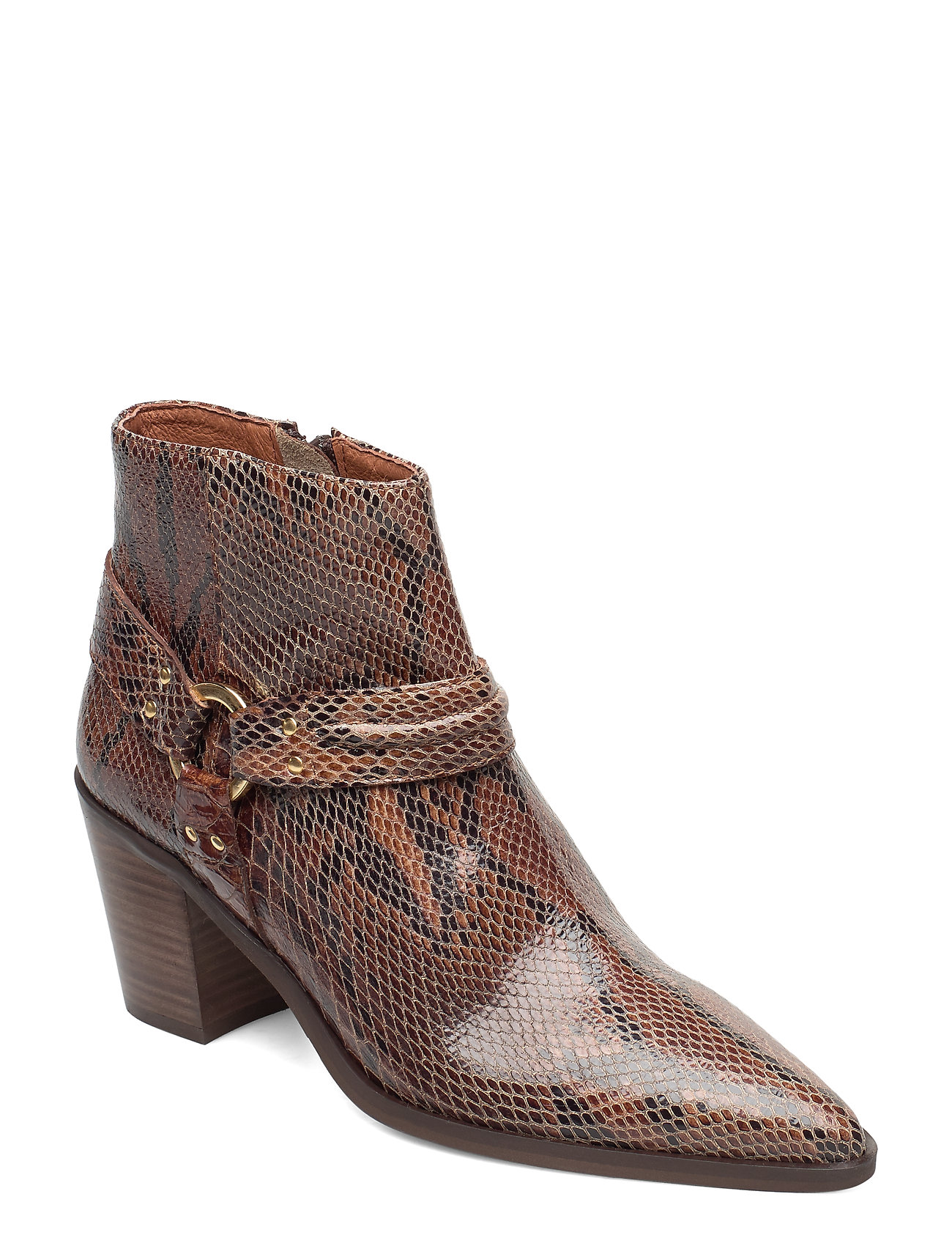 Image of Booties 3722 Shoes Boots Ankle Boots Ankle Boot - Heel Brun Billi Bi (3406199929)
