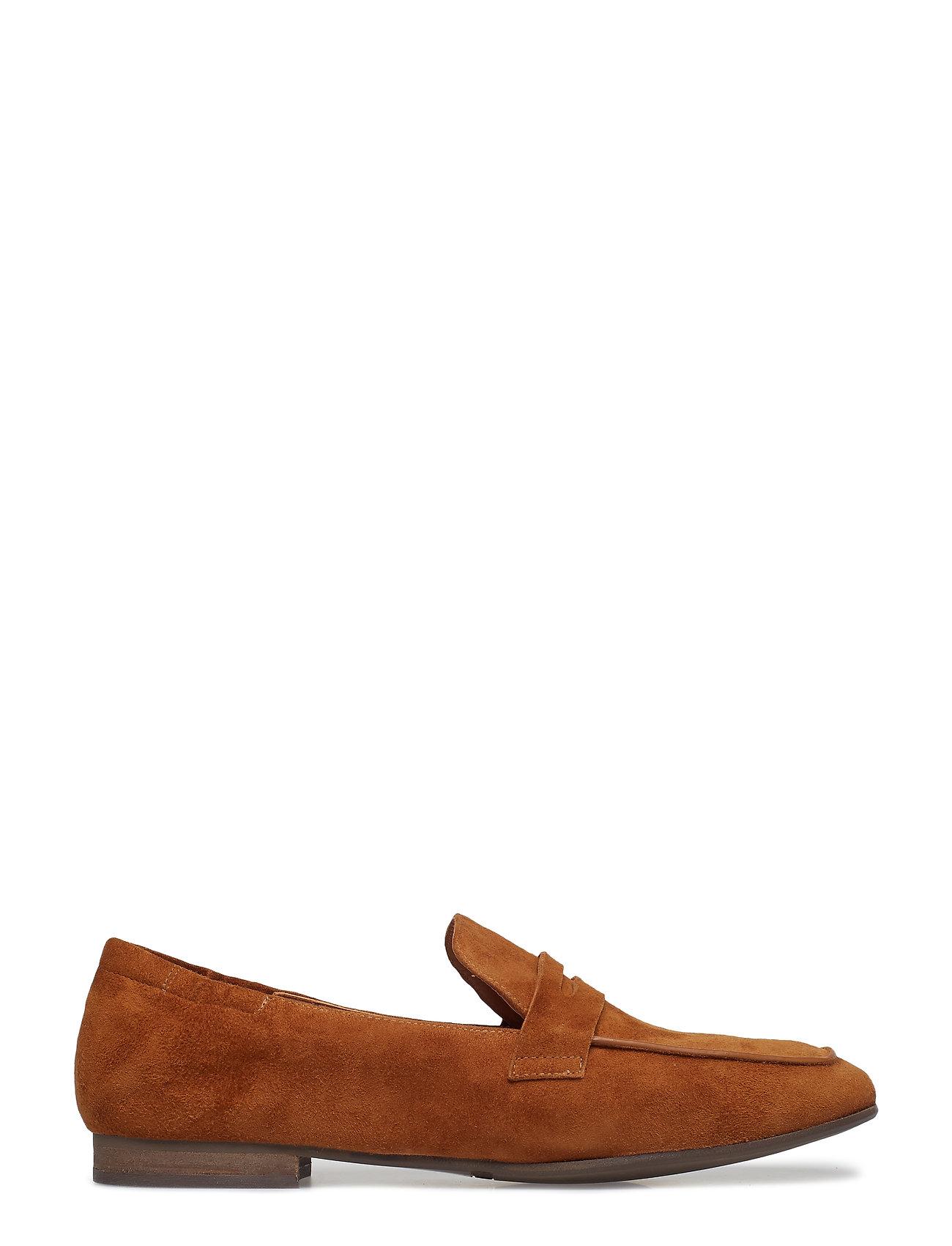 Shoes 8006 Loafers Flade Sko Brun Billi Bi
