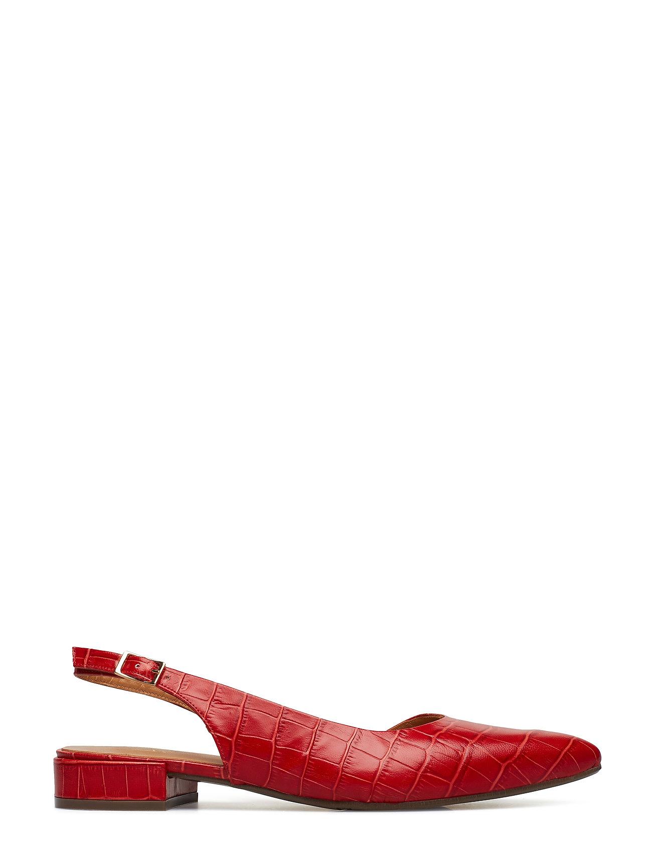 Shoes 8015 Ballerinasko Ballerinaer Rød Billi Bi