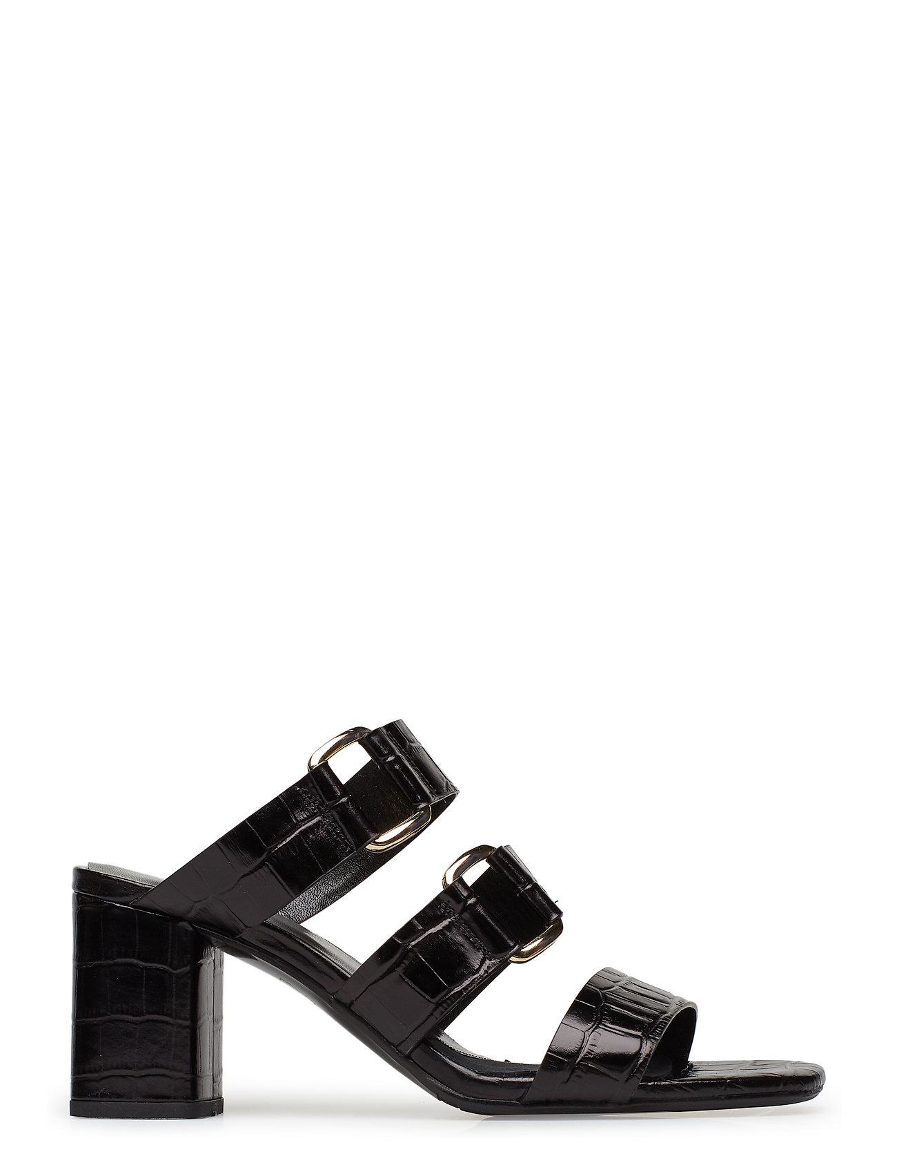 Sandals 8110 Sandal M. Hæl Sort Billi Bi