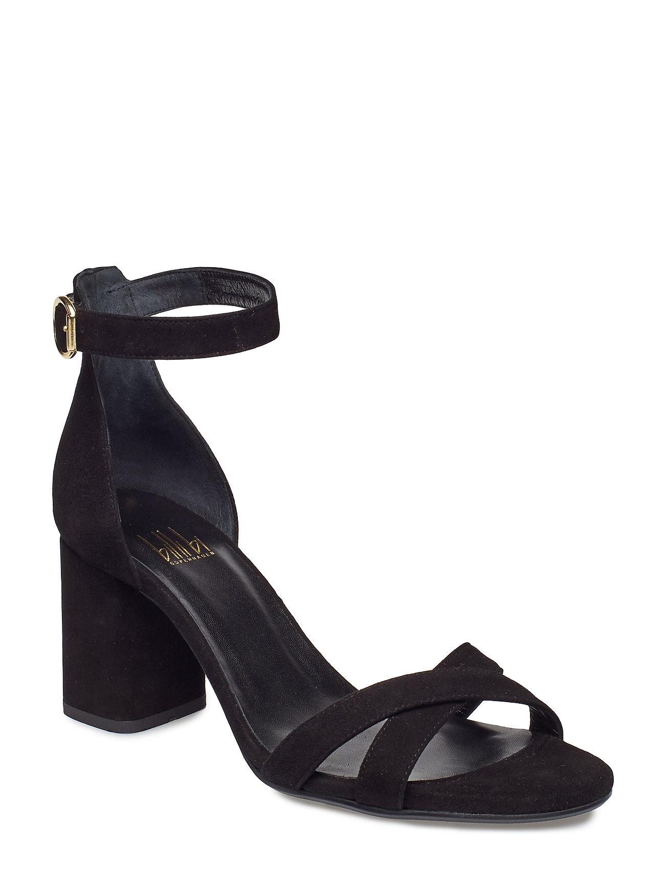 Sandals 8122 Sandal Med Hæl Sort Billi Bi