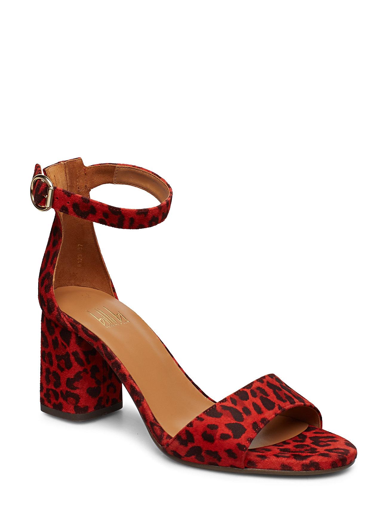 b1d0f44ec39 Sandals 8123 højhælede sandaler fra Billi Bi til dame i SUMMER RED ...