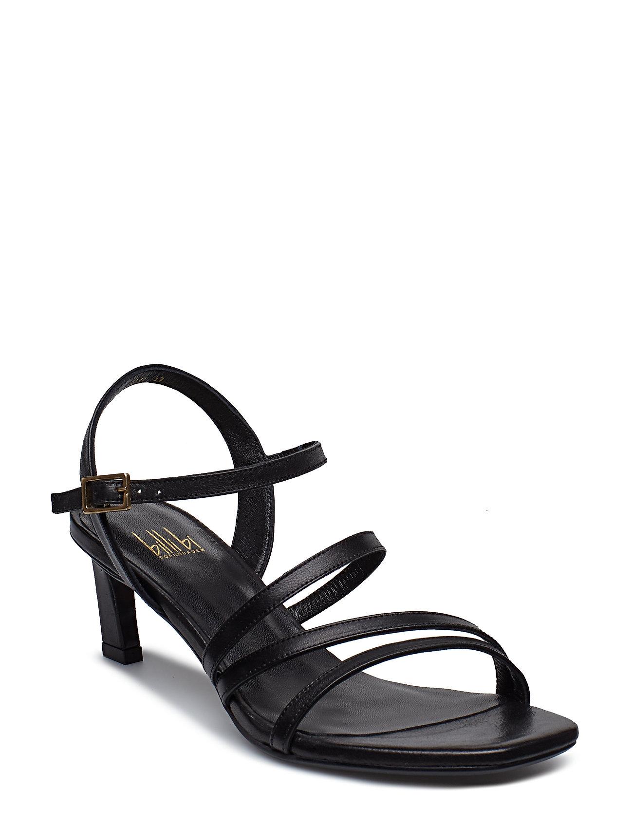 Sandals 8141 Sandal Med Hæl Sort BILLI BI