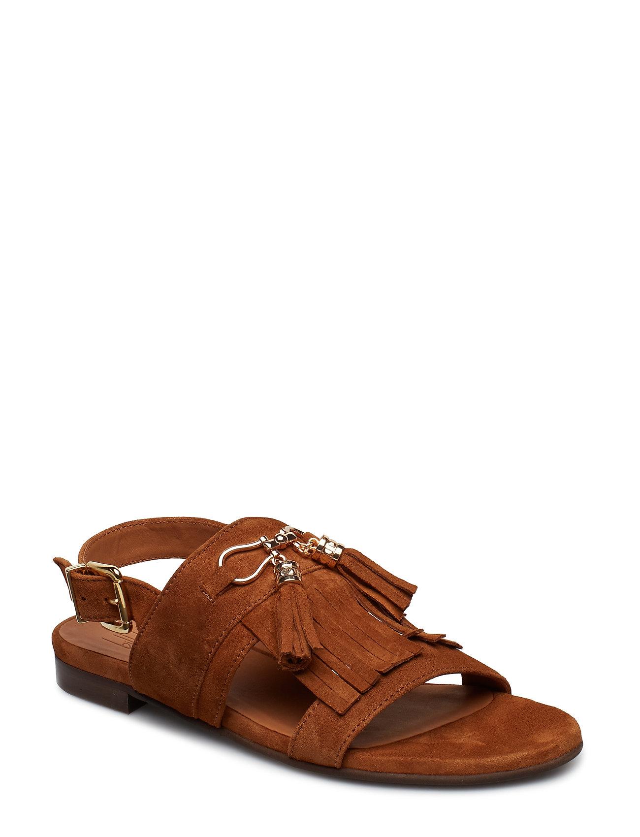 5f35ba80e4c Billi Bi Sandals 8705 (Cognac Suede/gold 562), (111.75 €) | Large ...