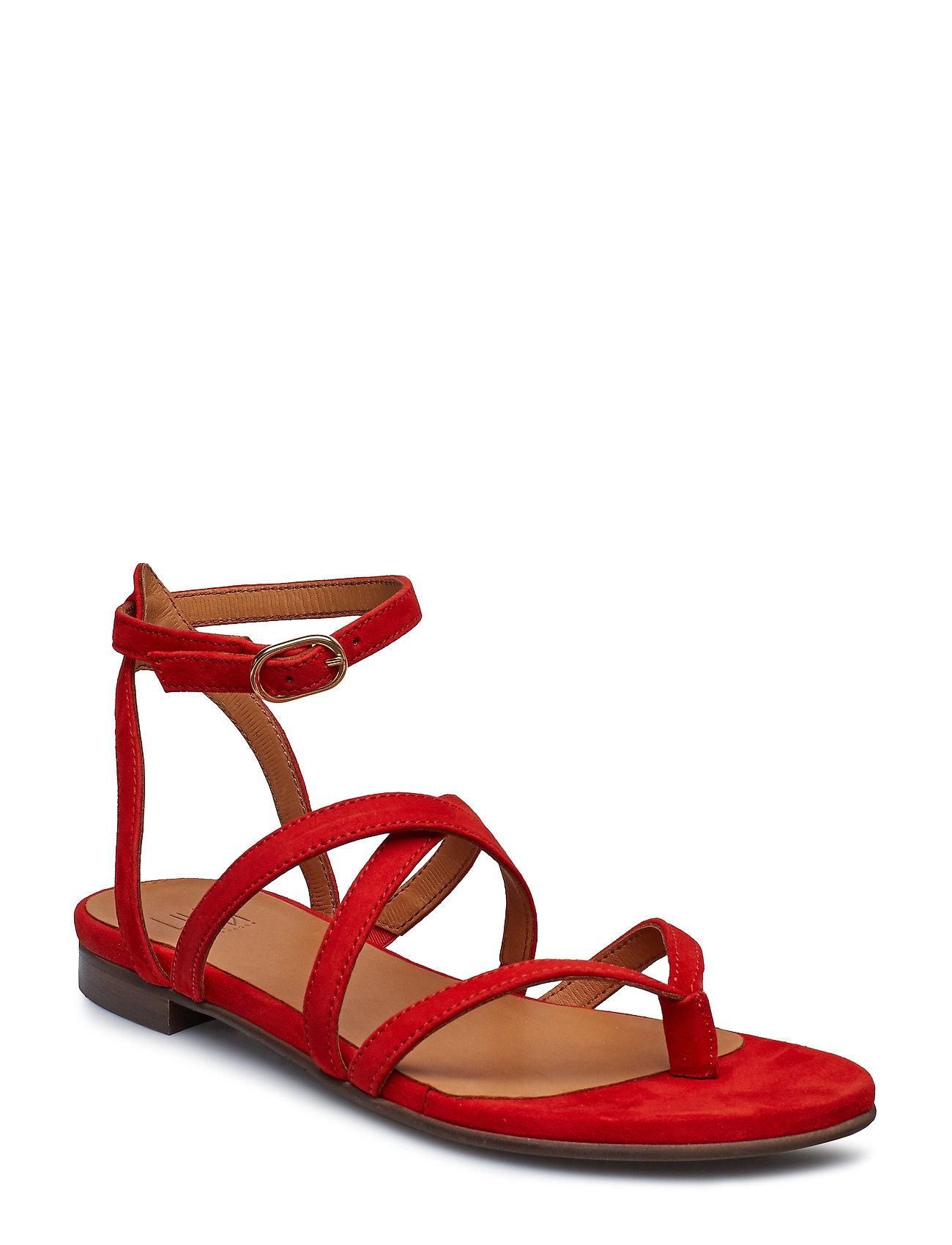 6a6d3c8f Billi Bi flade sandaler – Sandals 8706 til dame i SUMMER RED 1577 ...