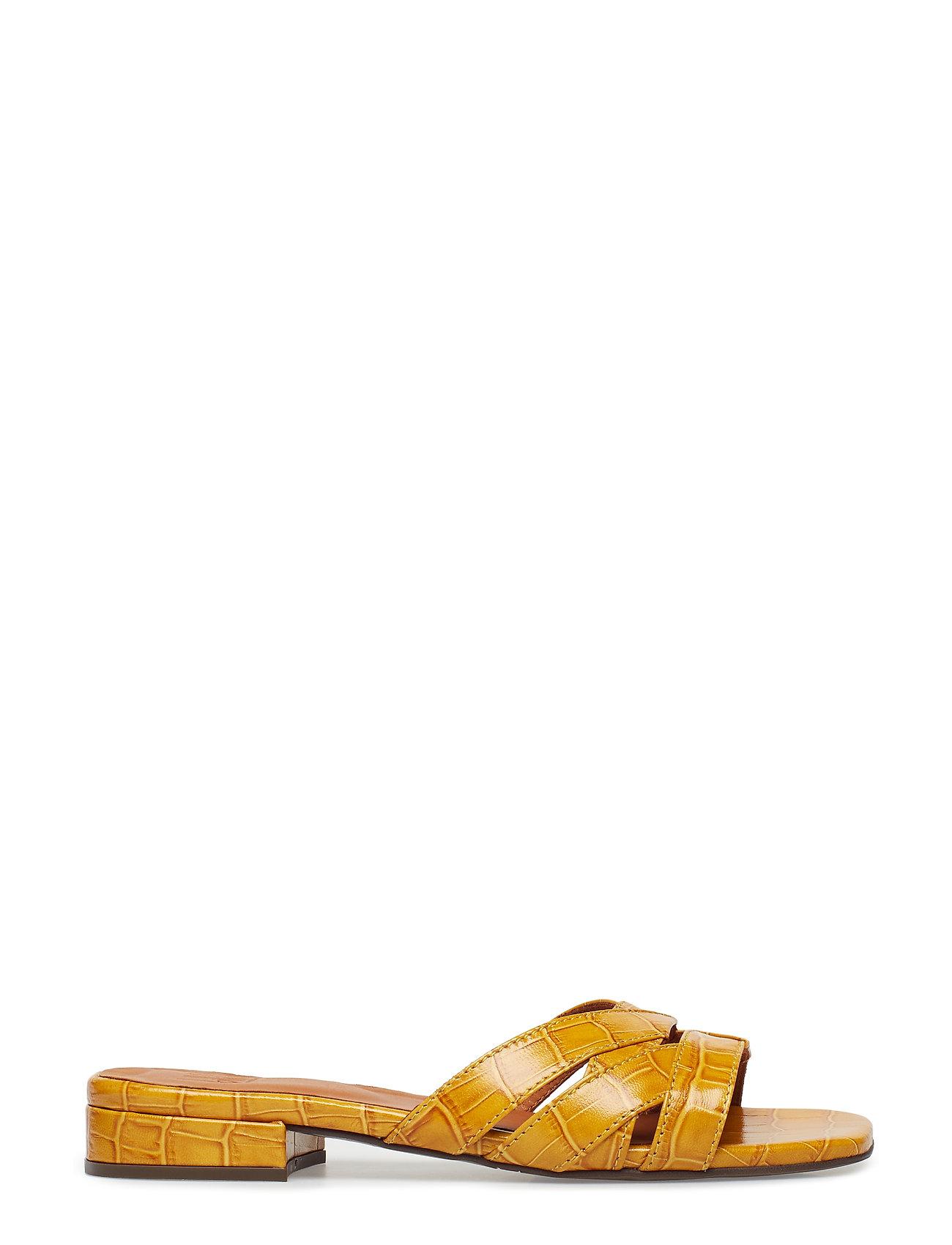 af593677fde Sandals 8717 Flade Sandaler Gul BILLI BI