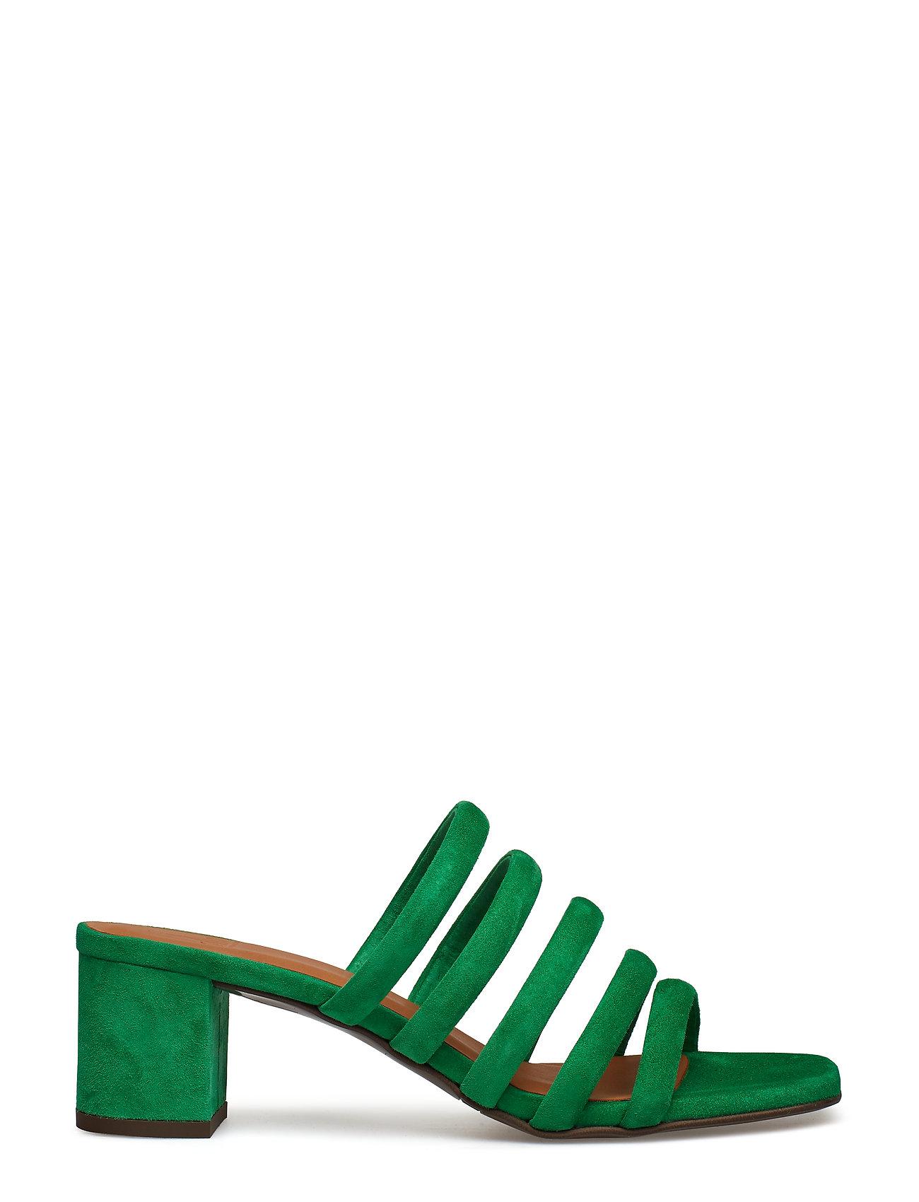 Grønne Sandaler med hæl til Damer   Altid billige online