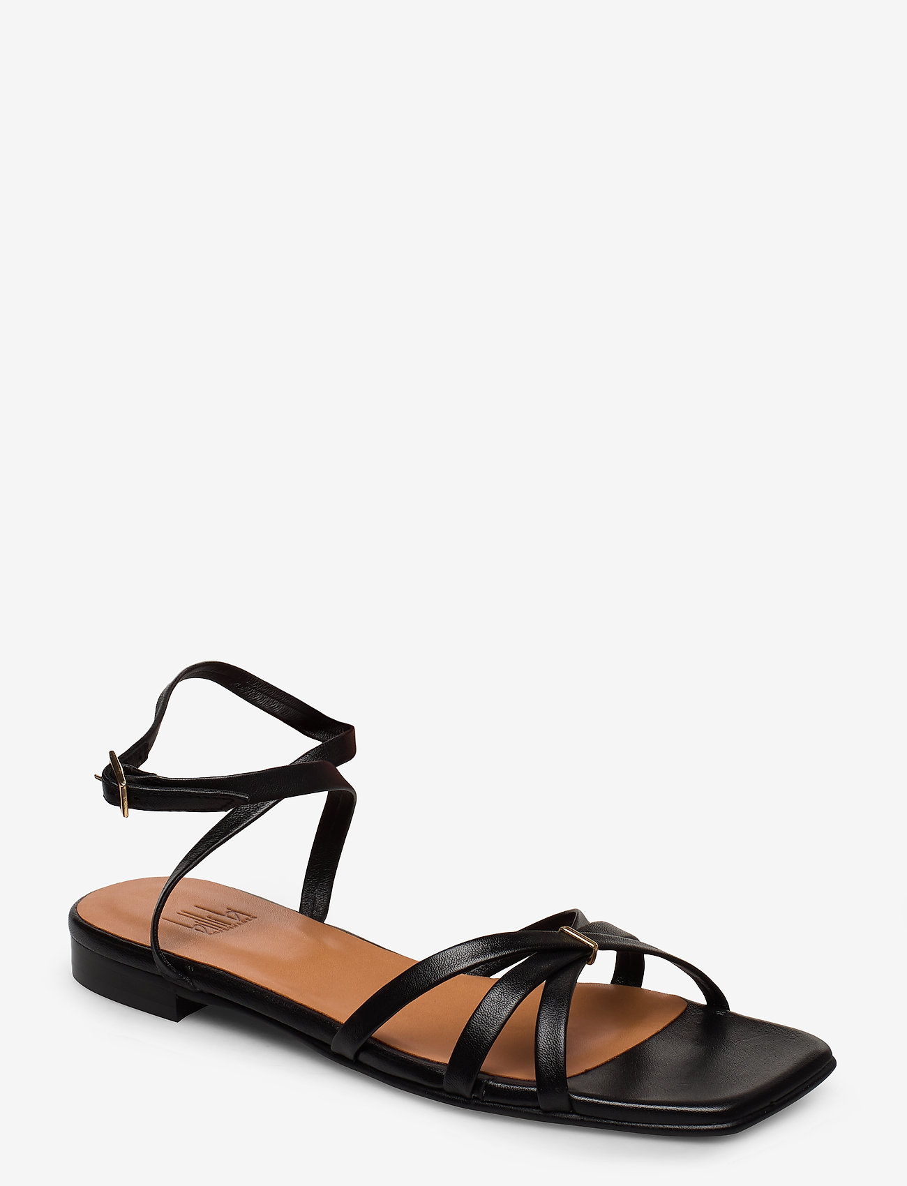 Billi Bi - Sandals 14103 - flate sandaler - black nappa 70