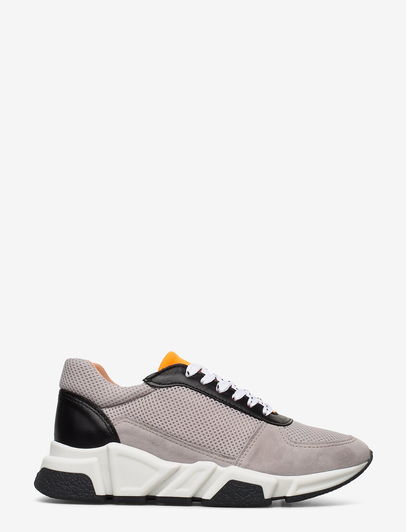 Billi Bi - Sport 14261 - chunky sneakers - taupe/white/orange 137 - 1