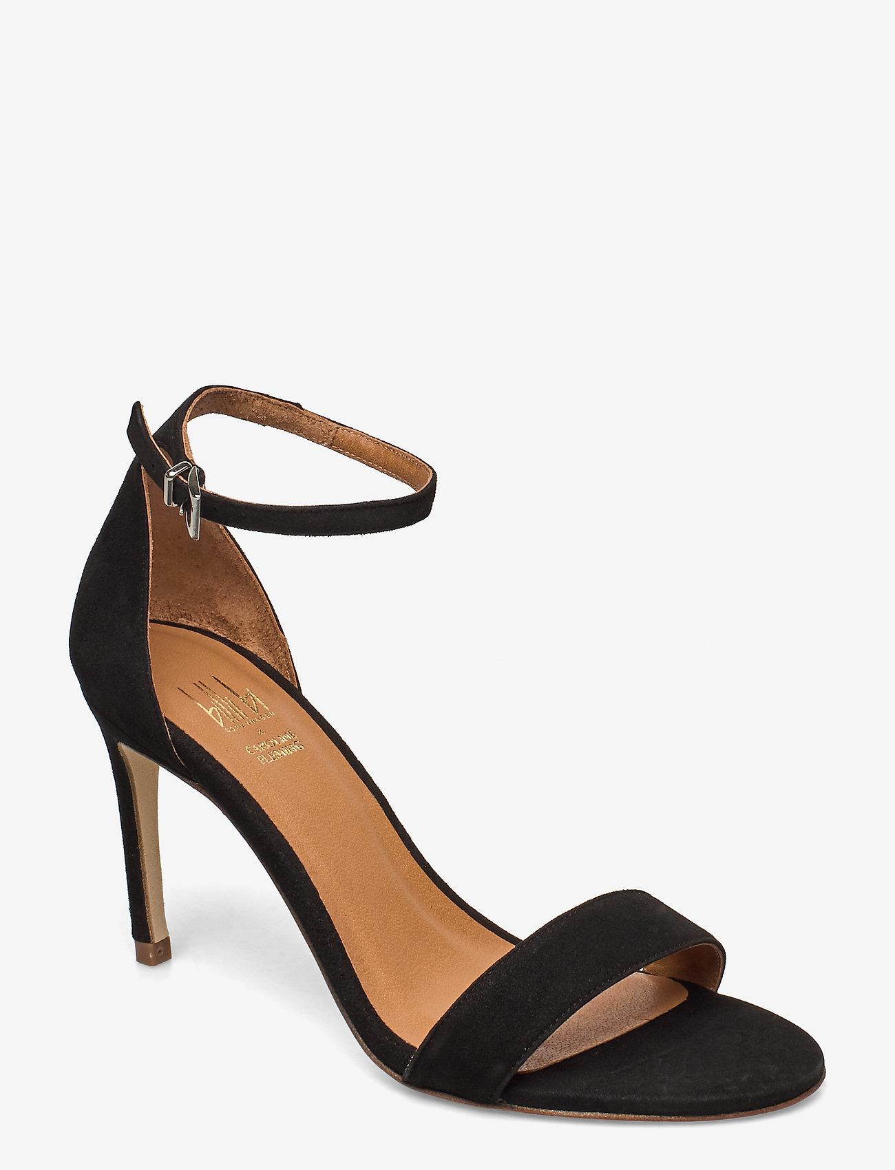 14451 Sandals (Black Suede 50) (146.30
