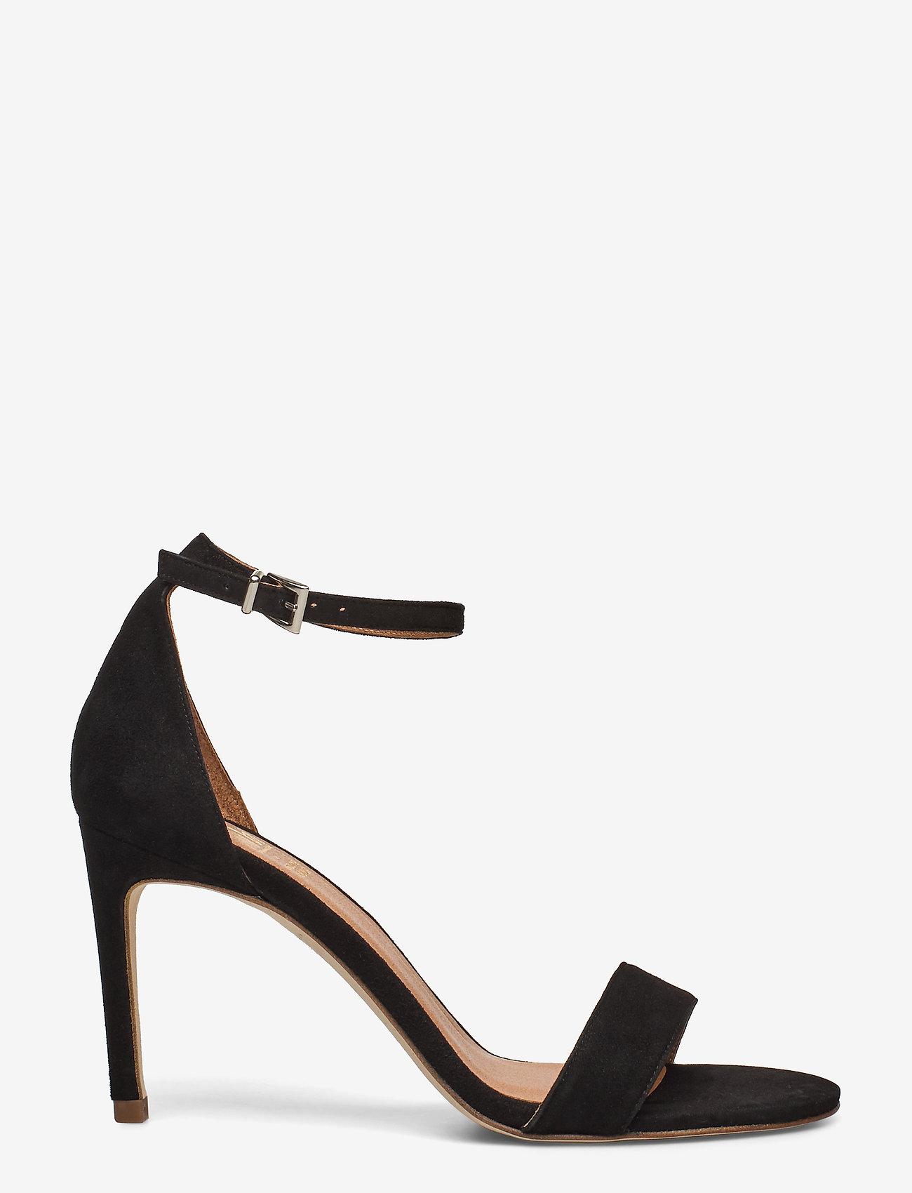 Billi Bi - 14451 Sandals - høyhælte sandaler - black suede 50 - 1