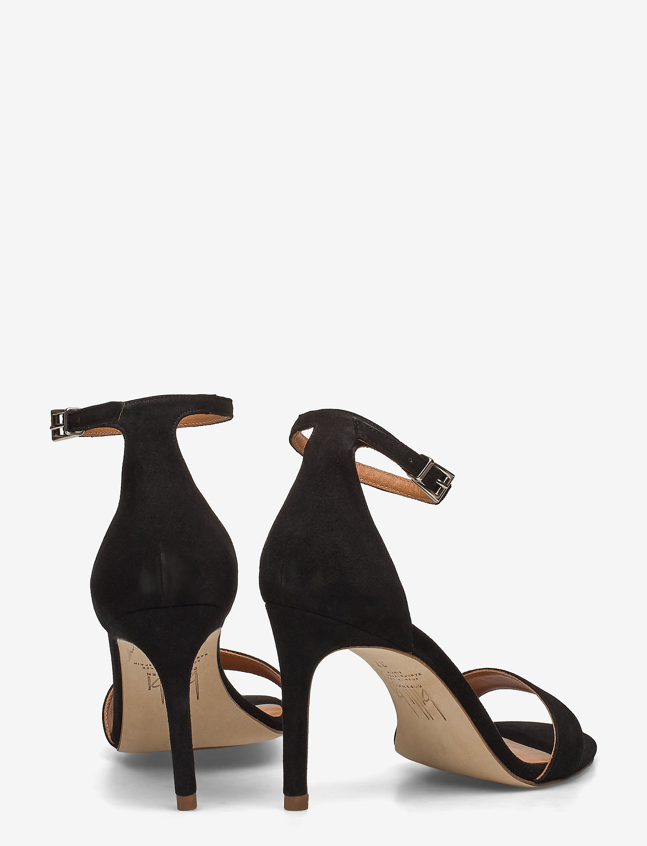 14451 Sandals (Black Suede 50) - Billi Bi