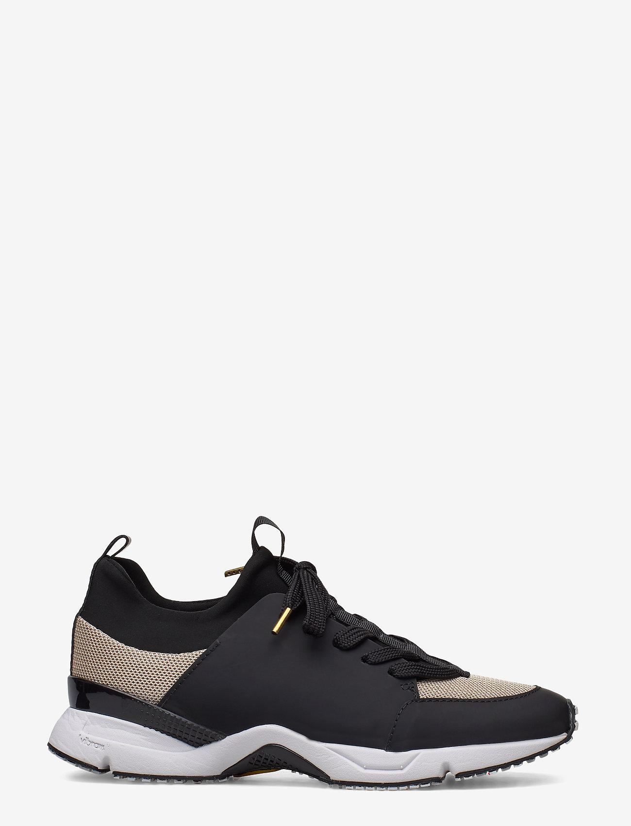Billi Bi - Sport 14871 - sneakers med lav ankel - black rubber/gold 420 - 1