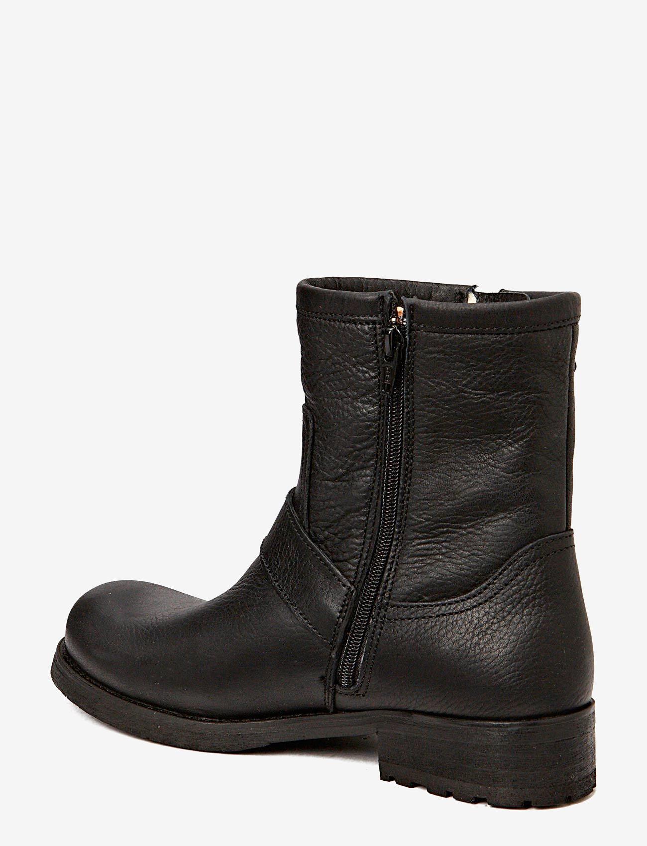 Billi Bi - BOOTS - WARM LINING - flache stiefeletten - black tomcat 80 - 1