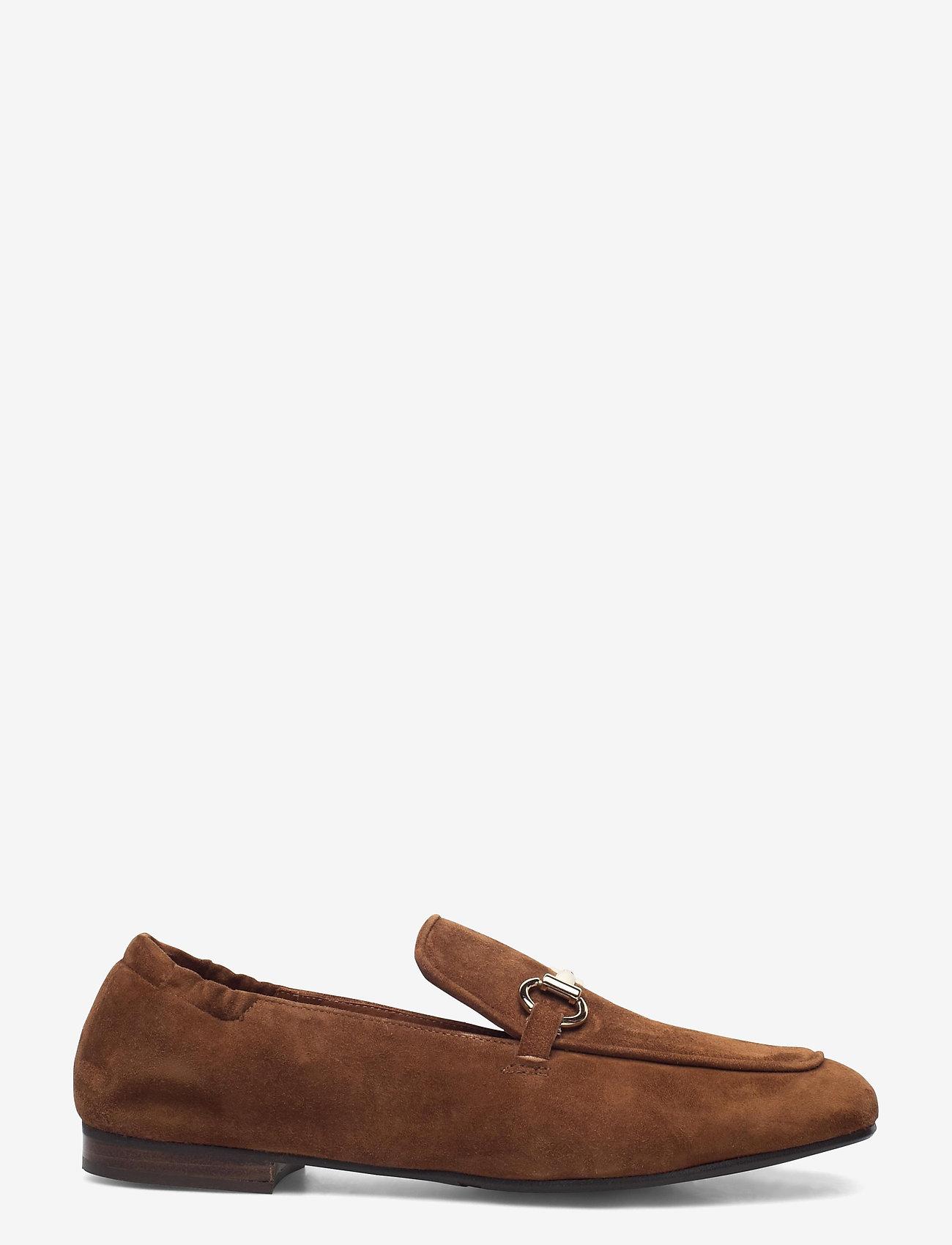 Billi Bi - Shoes 2514 - instappers - dark cognac suede 555 - 1