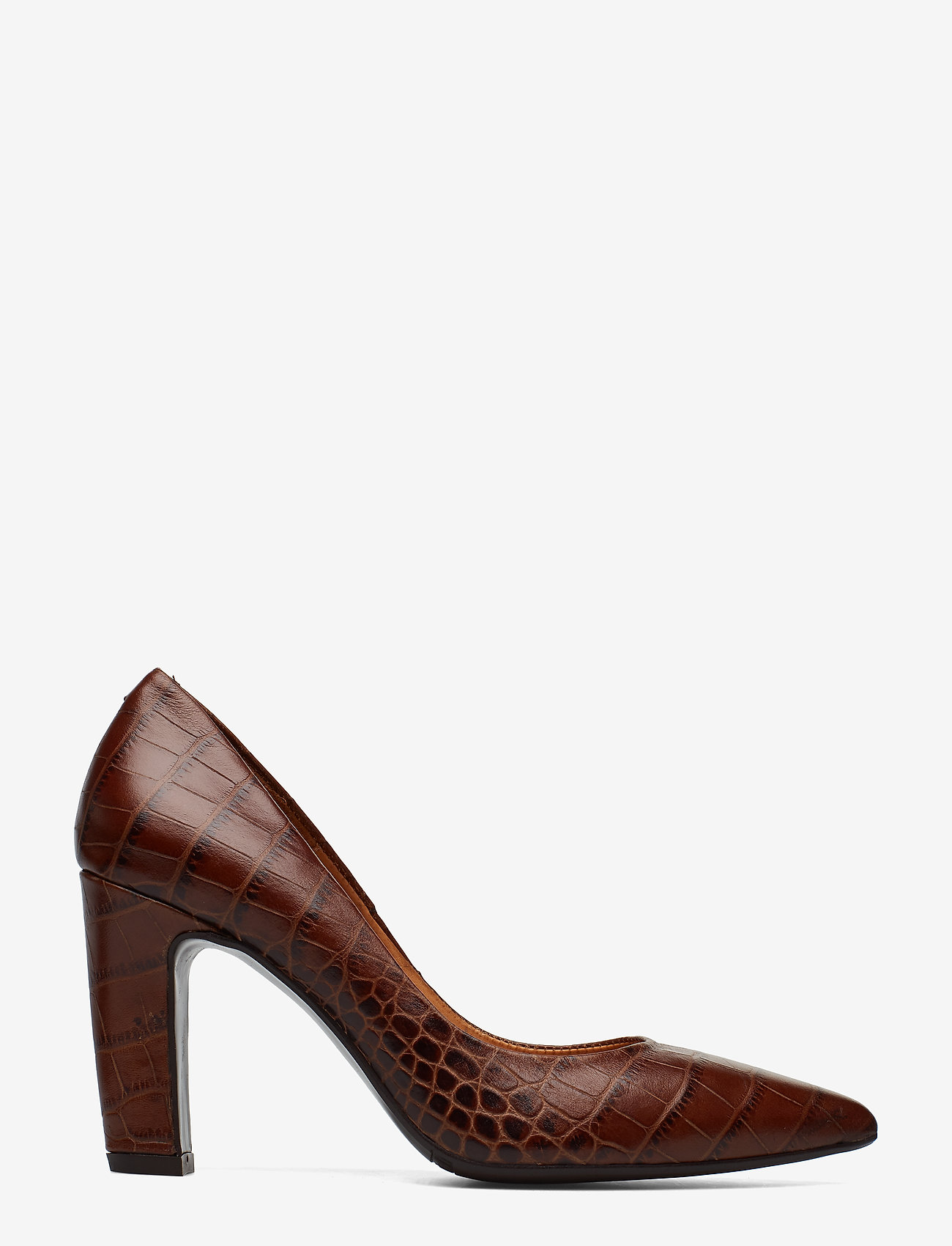 Billi Bi - Pumps 3333 - klassiset piikkikorkokengät - brown copico croco 46