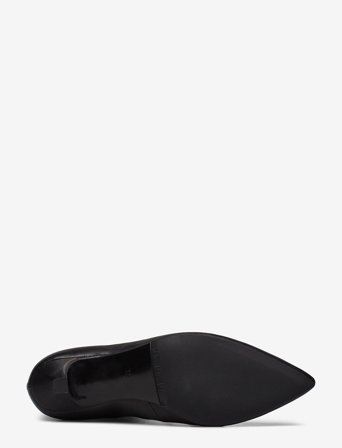 Booties 3342 (Black Nappa/silver 703) - Billi Bi
