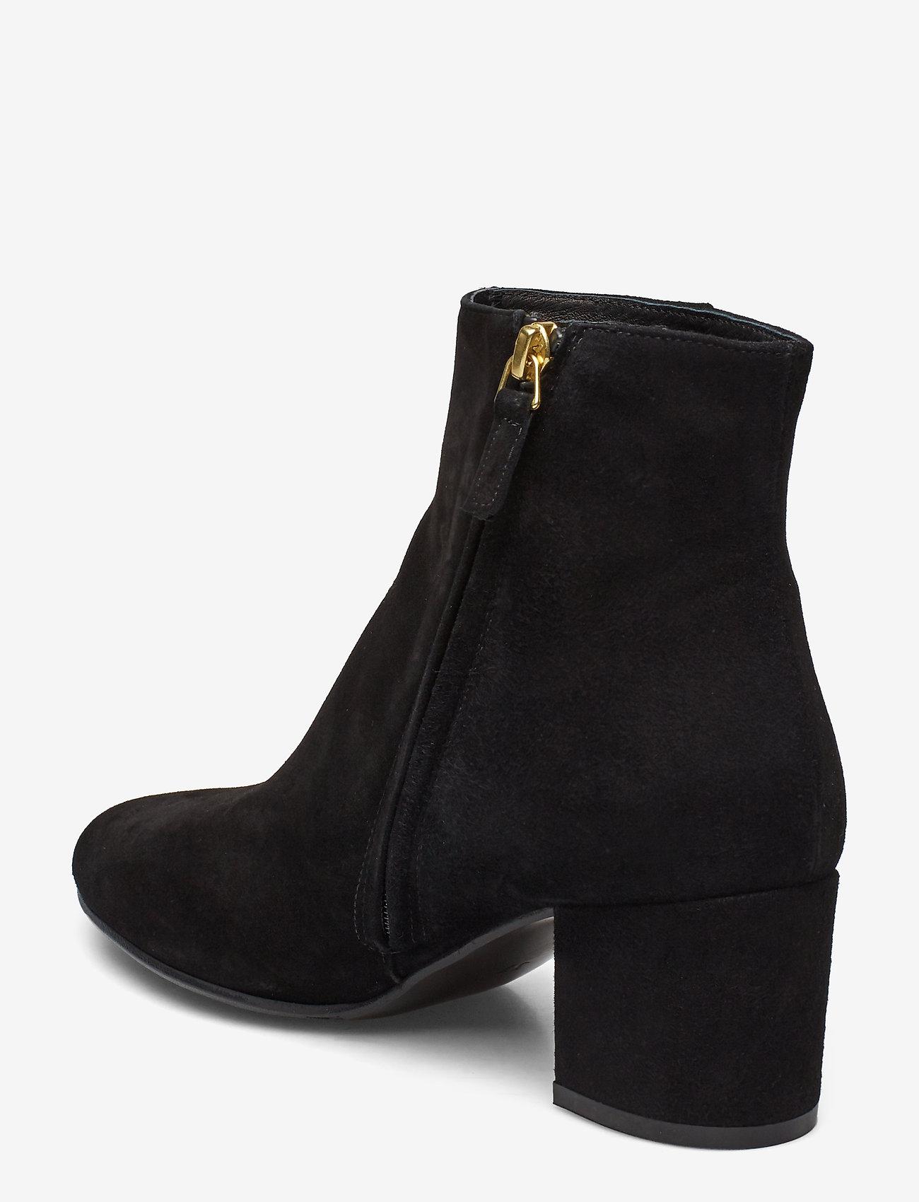 Booties 3405 (Black Suede 50) - Billi Bi