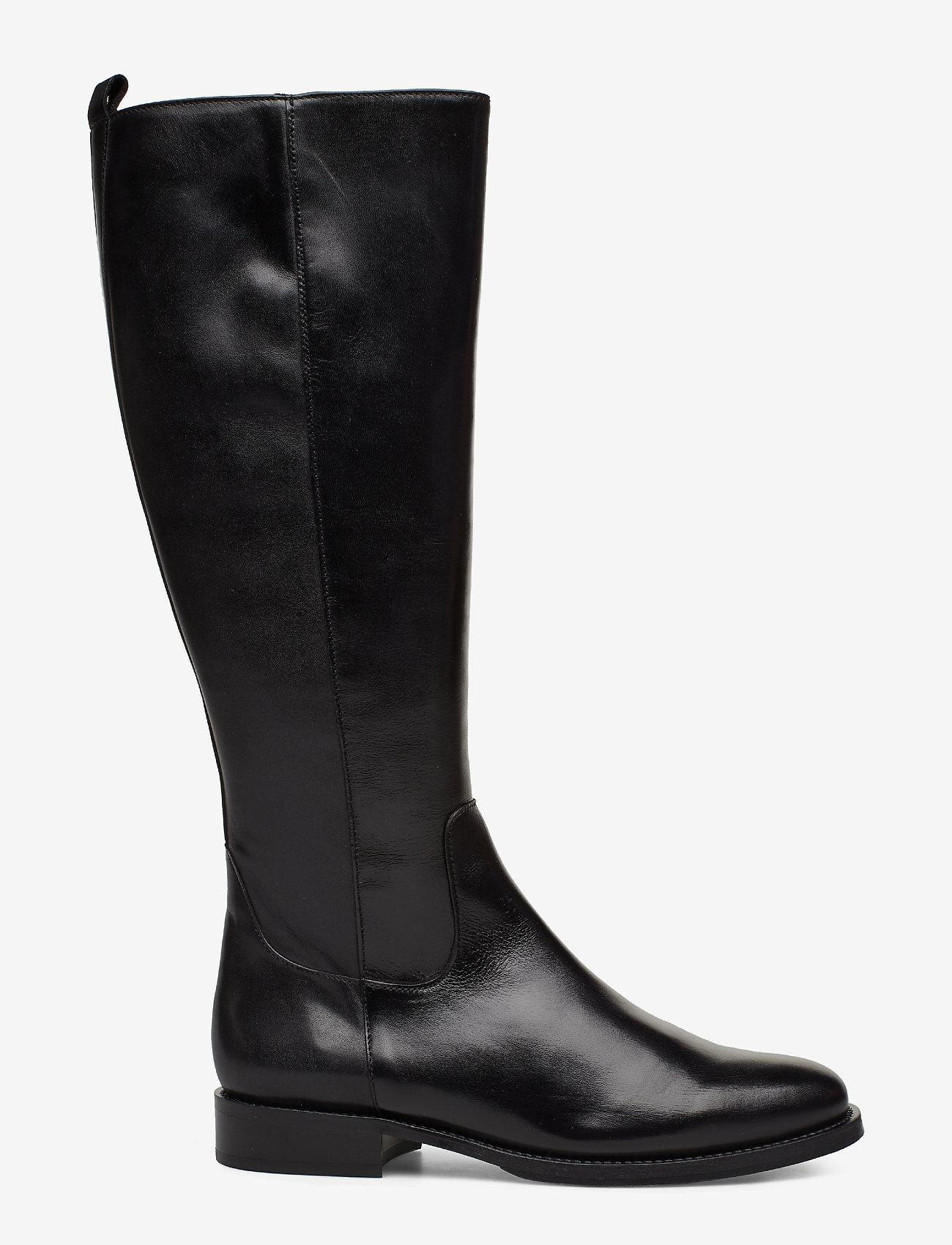 Billi Bi - Long Boots 3515 - pitkävartiset saappaat - black calf 80