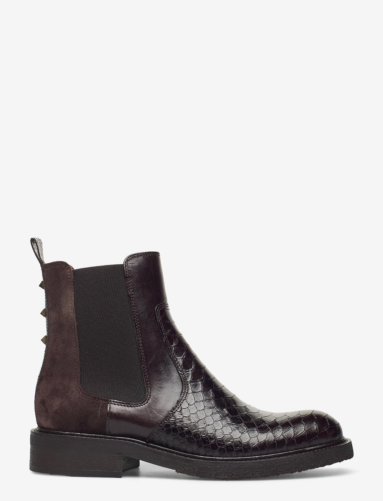 Billi Bi - Boots 3520 - chelsea boots - t.moro 490 polo/br35.snake 265 - 1