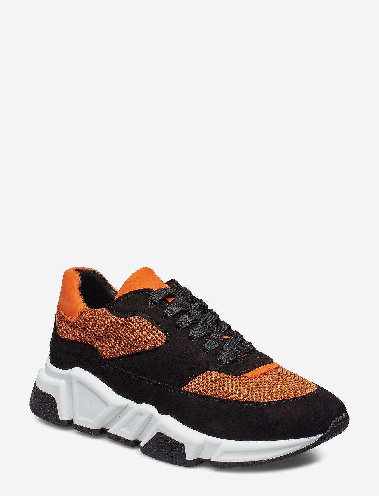 Billi Bi - Sport 3660 - chunky sneakers - black/orange comb.546