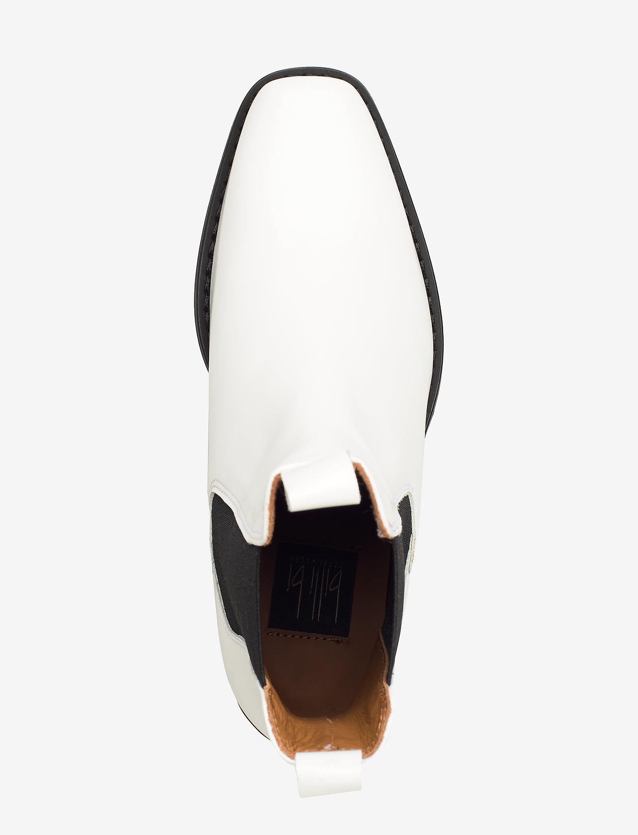 Booties 3696 (White Polido 93) - Billi Bi