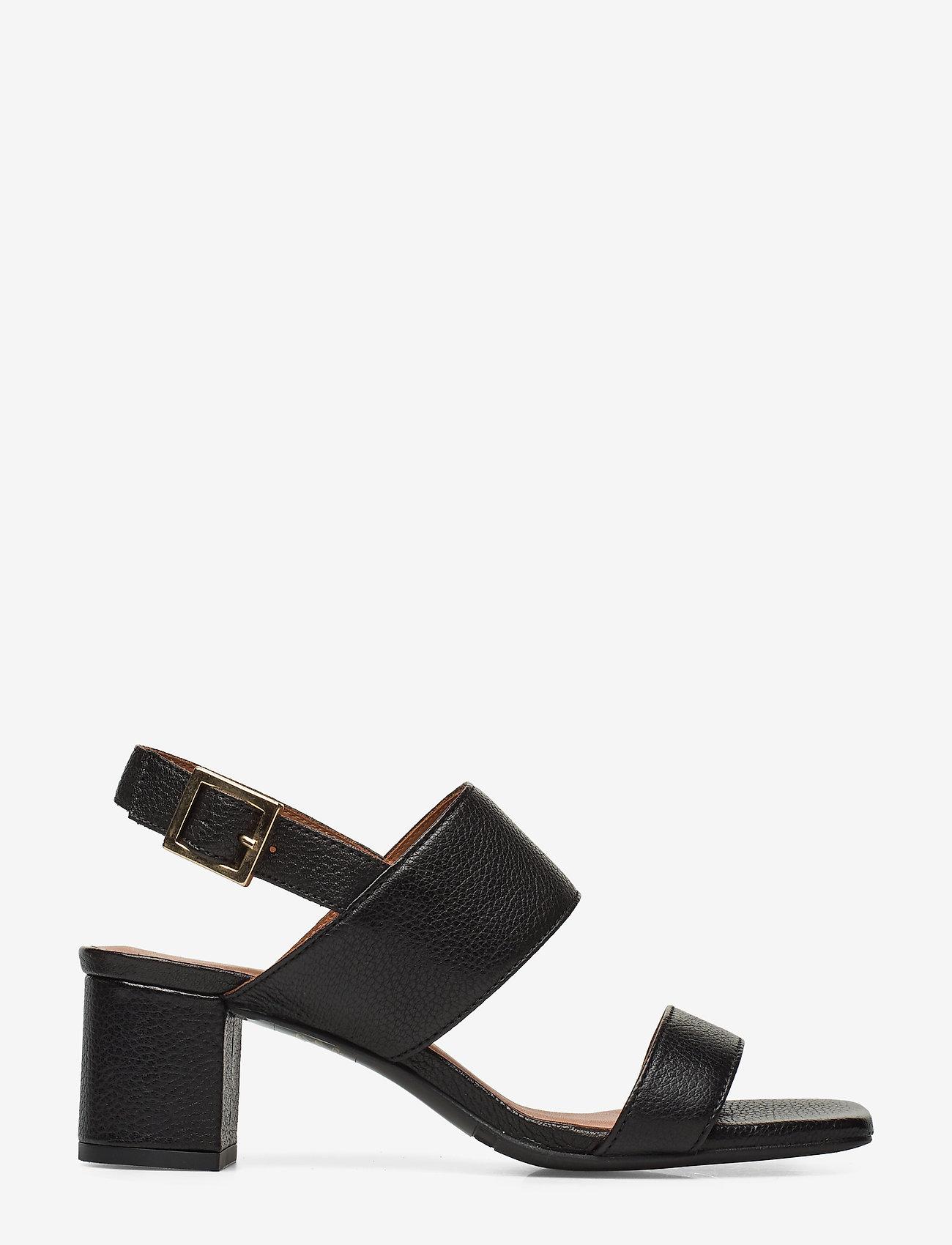 Billi Bi - Sandals 4032 - høyhælte sandaler - black buffalo 800