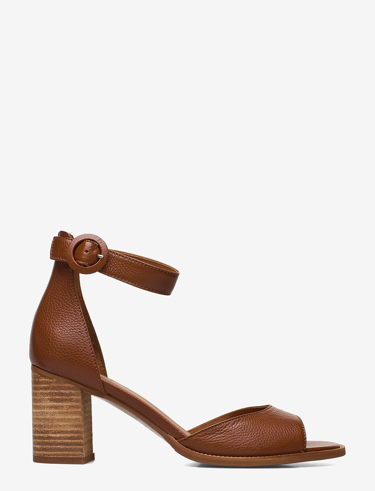 Billi Bi - SHOES - høyhælte sandaler - cognac 5144 buffalo 850 - 1