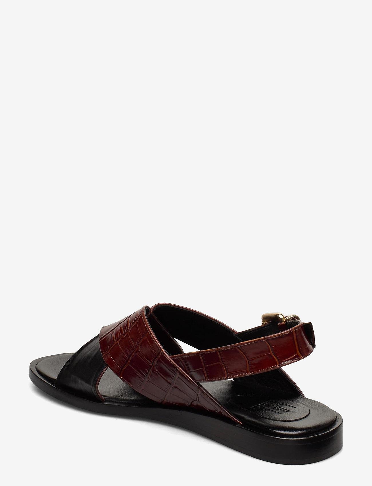 Slipper 4176 (Black Calf/brandy Monterey 825) (118.30 €) - Billi Bi oWhfh
