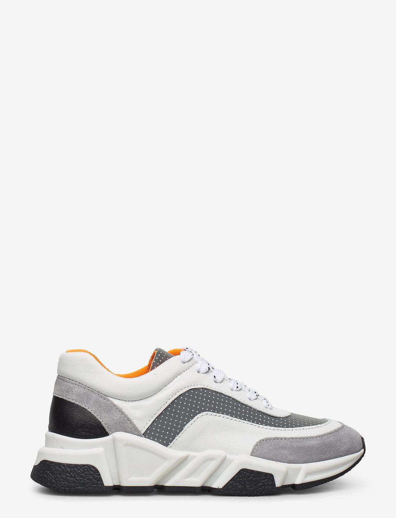 Billi Bi - Sport 4260 - chunky sneakers - grey/white/orange comb.537 - 1