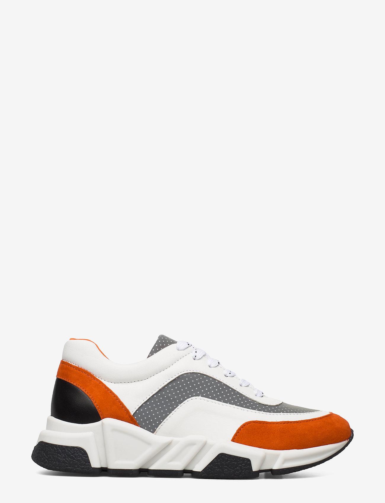 Billi Bi - Sport 4260 - chunky sneakers - orange/white/grey comb.573 - 1