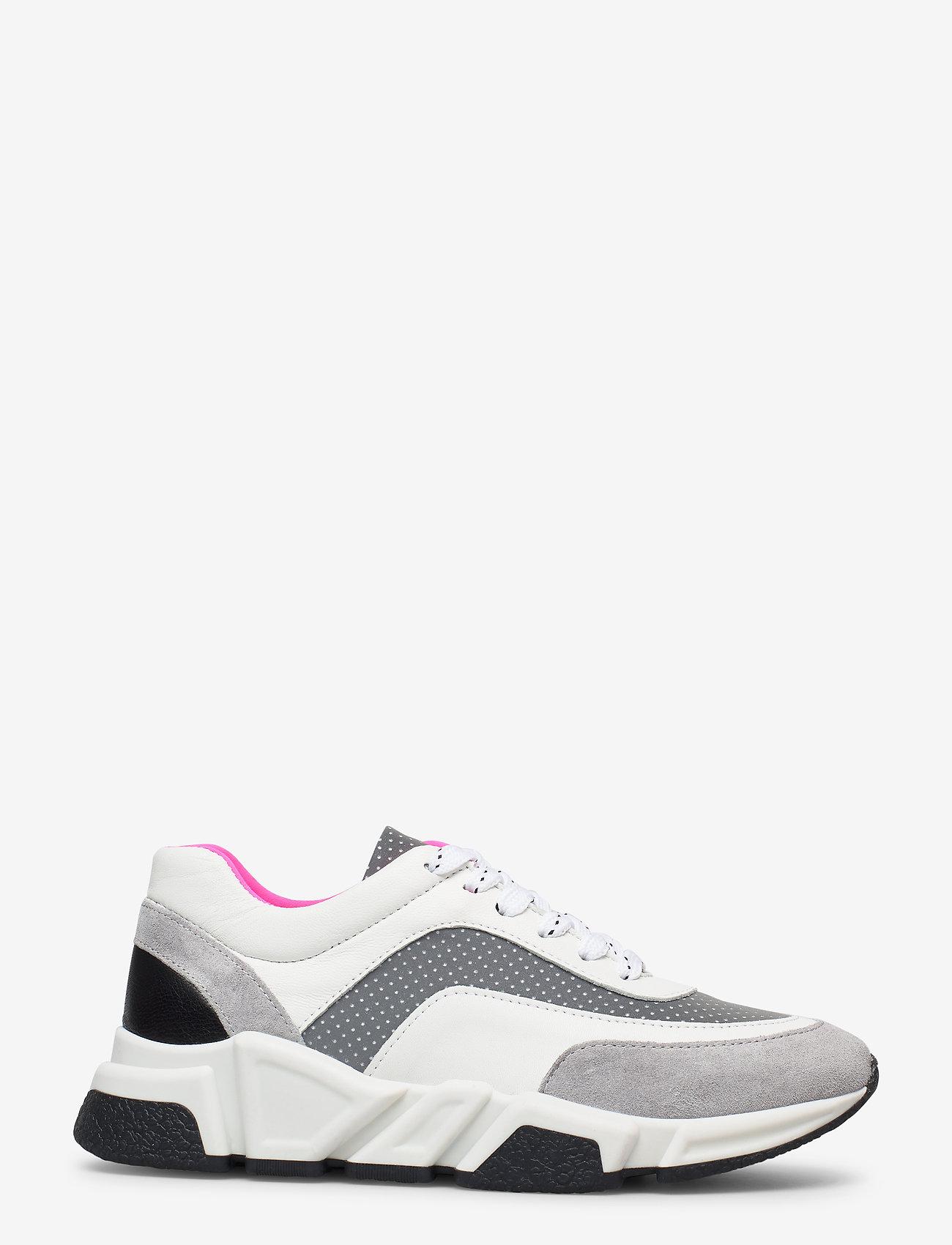 Billi Bi - Sport 4260 - chunky sneakers - grey/white/pink comb.539 - 1