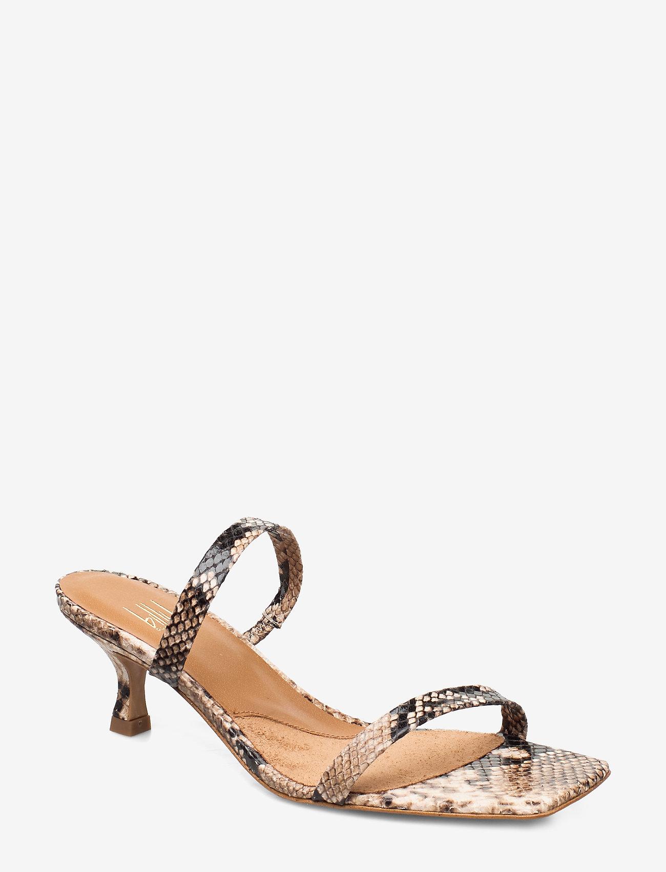 Billi Bi - Sandals 4480 - mules & slipins - beige 6071 snake 34 - 0