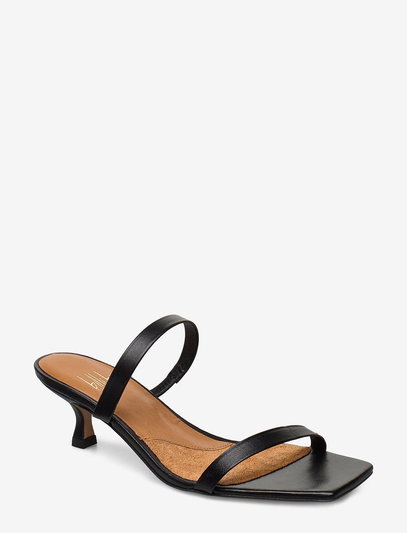 Billi Bi - Sandals 4480 - mules & slipins - black nappa 70 - 0