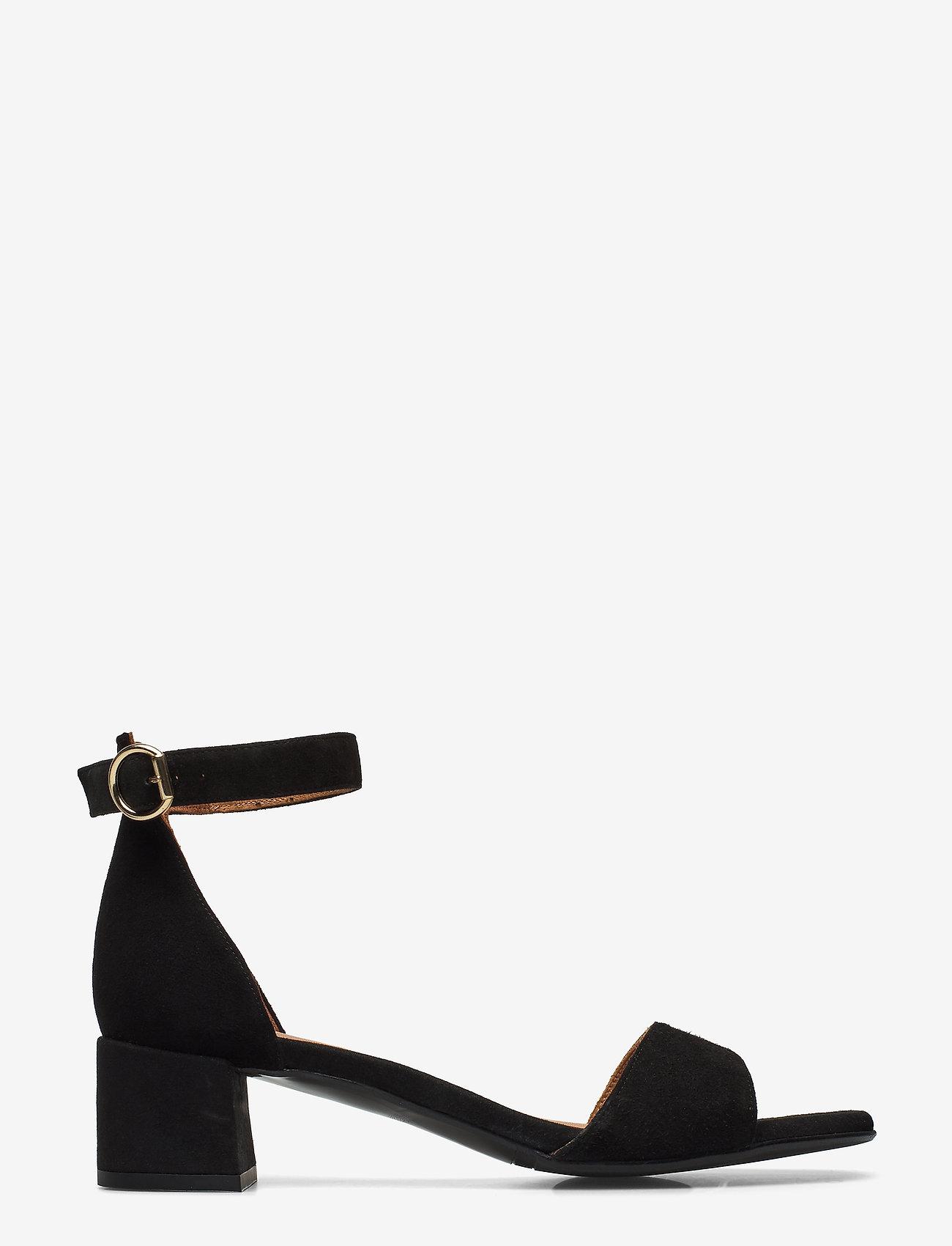 Billi Bi - Sandals 4607 - høyhælte sandaler - black suede 50