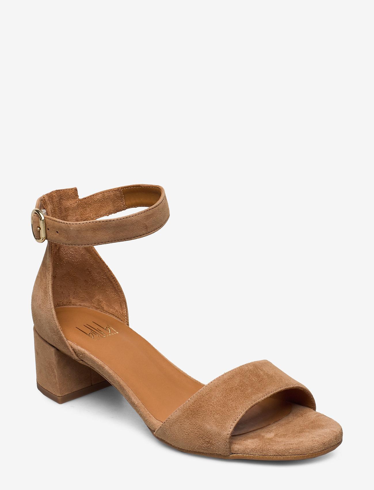 Billi Bi - Sandals 4607 - høyhælte sandaler - cuoio suede 55 - 0