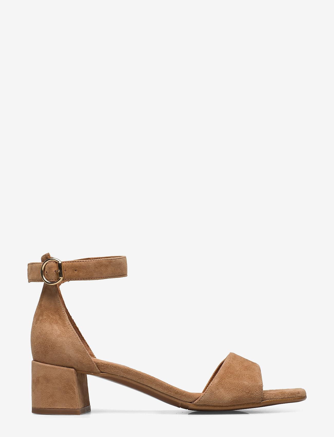 Billi Bi - Sandals 4607 - høyhælte sandaler - cuoio suede 55 - 1