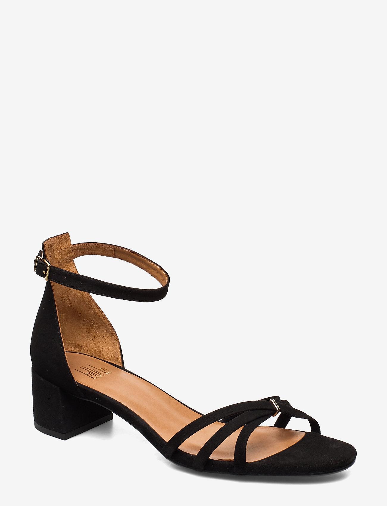 Billi Bi - Sandals 4608 - høyhælte sandaler - black suede 50 - 0