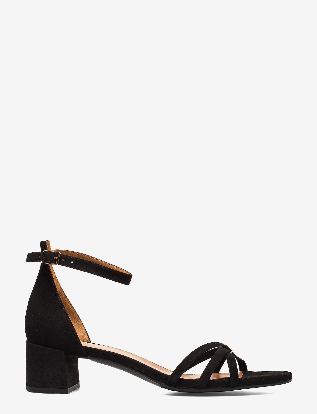 Billi Bi - Sandals 4608 - høyhælte sandaler - black suede 50 - 1