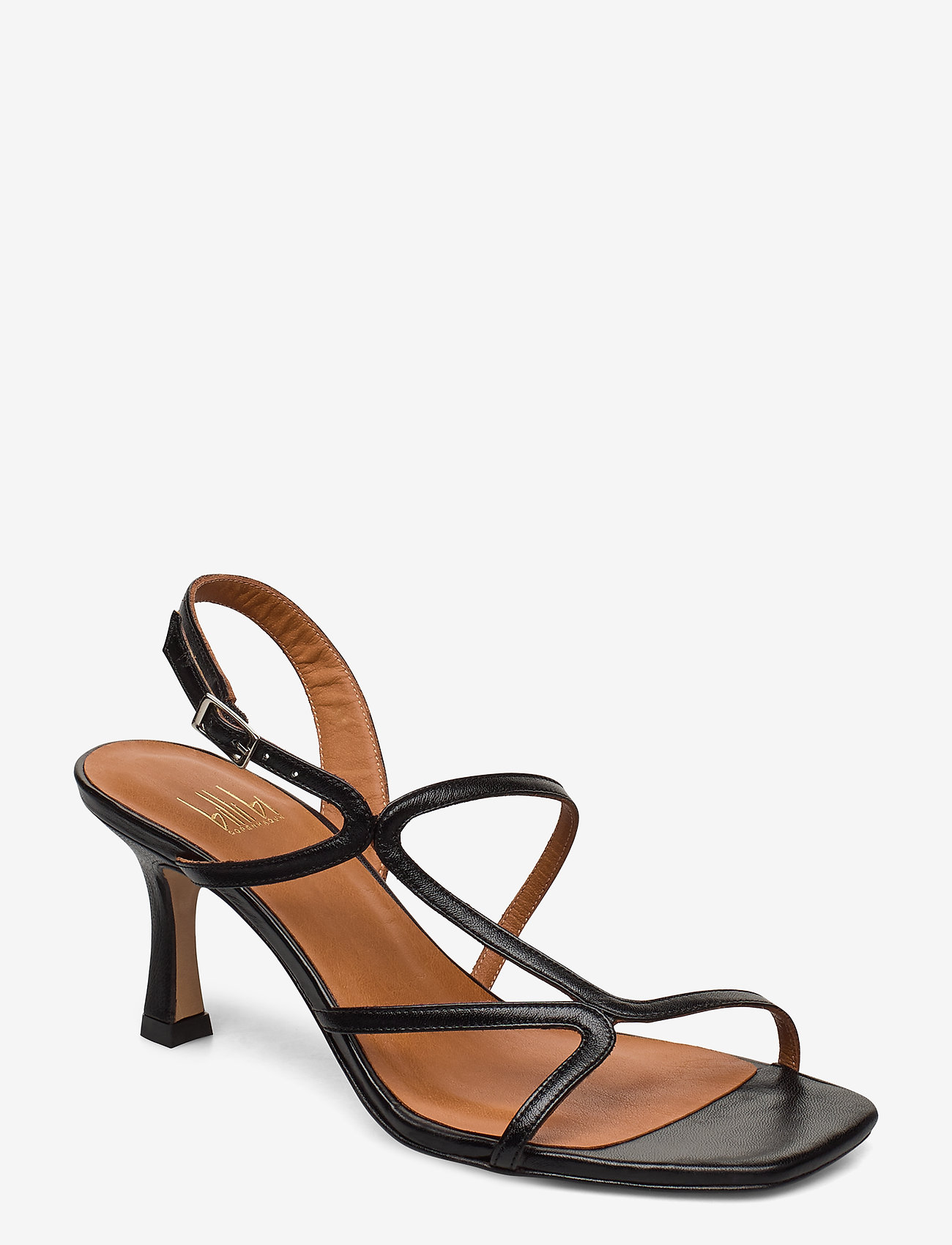 Billi Bi - Sandals 4622 - høyhælte sandaler - black nappa 70 - 0